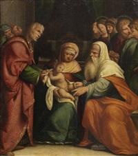 the circumcision by benvenuto tisi da garofalo