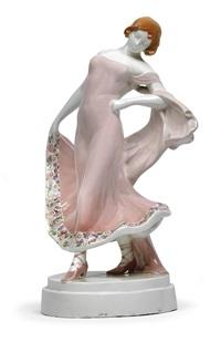 tanzendes mädchen by helmut lindner