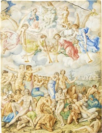 the last judgement by giulio clovio