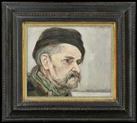 old man by vlastimil hofmann