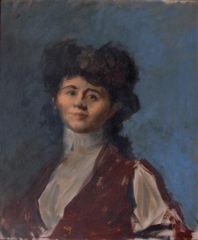 portrait de femme by jean louis forain