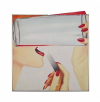 study for marylin by james rosenquist