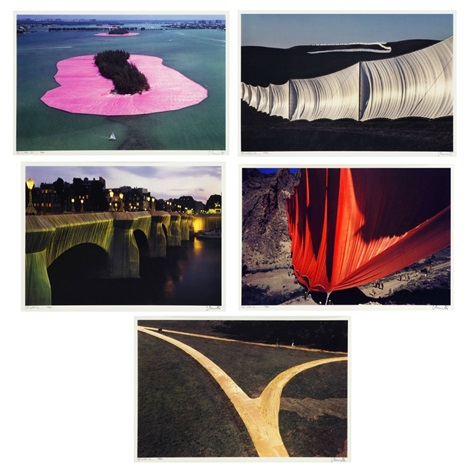 five projects 5 works by christo and jeanne claude