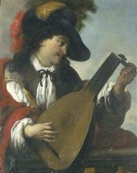 le joueur de luth by johann liss