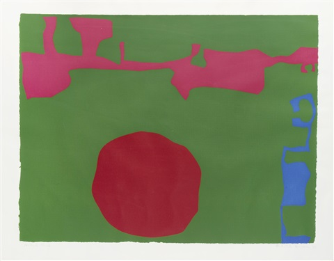 plate 11 from january 1973 by patrick heron