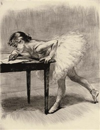 à l'opéra (portfolio of 30 works) by charles paul renouard