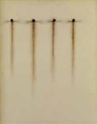 no. 409 (4 nails rust) by jiro takamatsu
