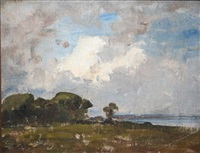 malahide estuary by nathaniel hone the younger