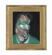 study for head of lucian freud by francis bacon