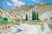 paysage arménien by ohannès alhazian