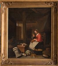 intérieur de cuisine by pieter jacobsz duyfhuysen