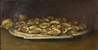 le plateau d'huitres by guillaume romain fouace