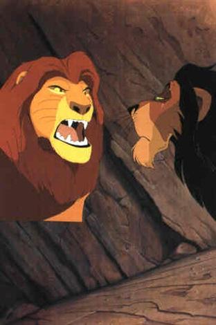 the lion king mufasa and scar by walt disney studios on artnet
