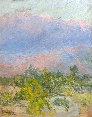 landscape by konstantinos maleas