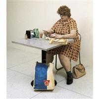 woman eating by duane hanson