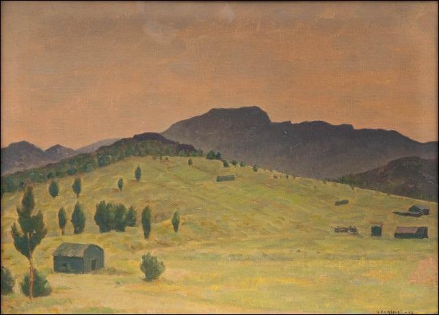 ilta aurinkoa espanjan vuoristossa by väinö kamppuri