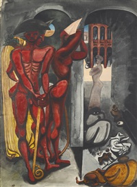 the torturers by edward burra