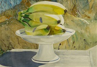 landscape with bananas by william roberts