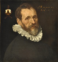 retrato de caballero by willem key
