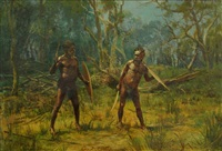a native duel by george alfred john webb