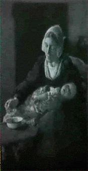 feeding the baby by wally (walburga wilhelmina) moes