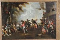 réjouissances villageoises by david teniers the younger