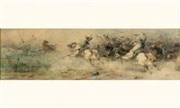 l'attaque des cavaliers by sebastiano de albertis