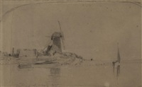 reedham by john sell cotman