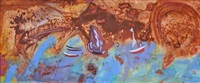 boats, cape leveque by robert litchfield juniper