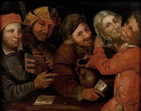 card players by pieter balten