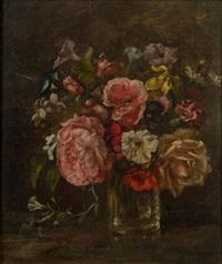 vase de fleurs by paul huet
