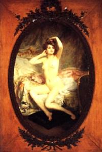 le lever by etienne-albert-eugène joannon