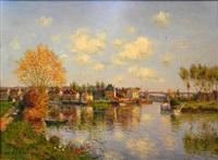 automne a pont croix by laurent vialet