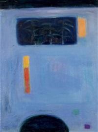 blue garden by jean duncan