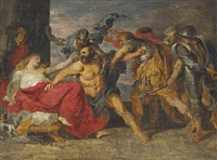 the taking of samson by sir anthony van dyck