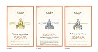 ssafa (3 works) by fougasse (cyril kenneth bird)