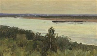 on the river by vasili (vladimir) vasilievich perepletchikov