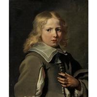 portrait de jeune garçon by le nain brothers