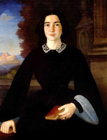 the portrait of penelope deligiorghis drossini by francesco pige