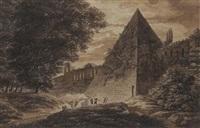 pyramide de caïus by jean baptiste frénet