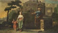 joseph und seine brüder; vertreibung der hagar (pair) by anonymous-flemish (18)