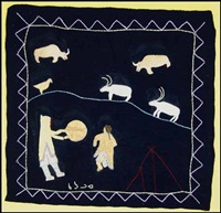 inuit wallhanging by angela qasalluaq krashudluak