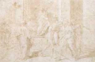 la capture de saint jean baptiste after andrea del sarto by andrea boscoli