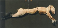 el sacrificio ii, de la serie el asesinato del conejo de durero by arturo rivera