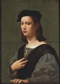 portrait of a young gentleman by giuliano bugiardini