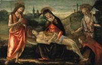 compianto sul cristo morto by davide bigordi ghirlandajo