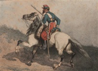 chasseur d'afrique by théodore fort