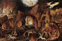 hell by jakob isaacsz swanenburgh