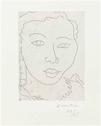 martiniquaise by henri matisse