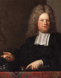 portrait of a judge by arnold boonen